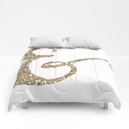 Glitter Ampersand Comforters
