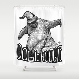 Oogie Boogie Ink Drawing Shower Curtain