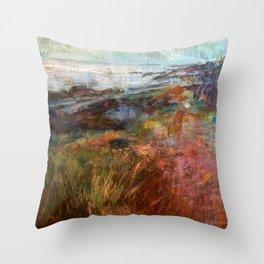 Moville Shore Path Throw Pillow