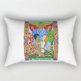 The Lovers - Tarot Rectangular Pillow