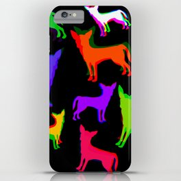 Chihuahua Pattern iPhone Case