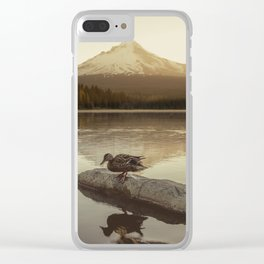 The Oregon Duck Clear iPhone Case