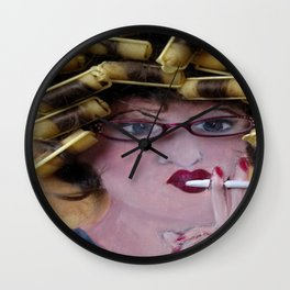 Flo Led A Hard Life Wall Clock