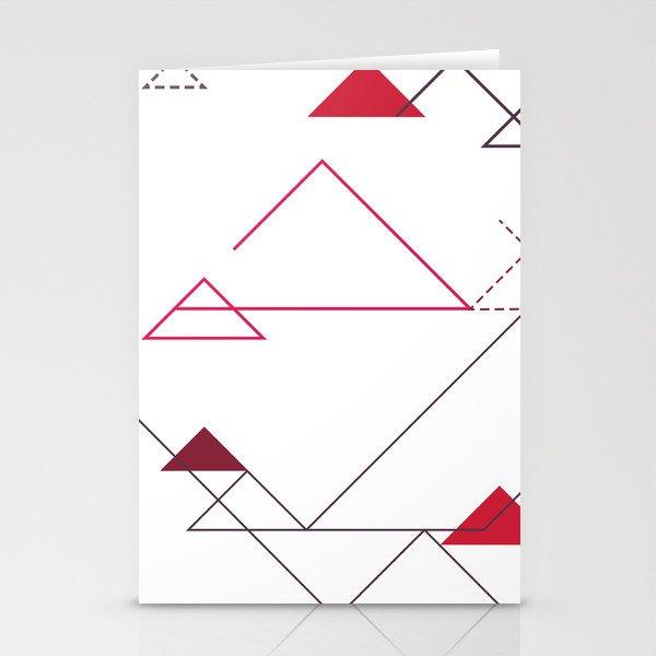 Tree-Angle Stationery Cards
