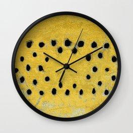 Holes Wall Clock