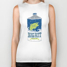 Big Hit Beer Biker Tank
