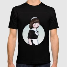 Air Doll MEDIUM Mens Fitted Tee Black