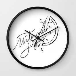 watermelon sugar -  Wall Clock