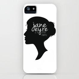 Jane Eyre Is My Spirit Animal iPhone Case