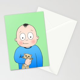 Bed Time Buddy Stationery Cards