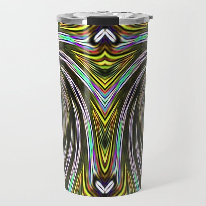 Silver Eyes Travel Mug