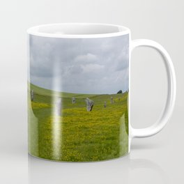 The avenue at Avebury Coffee Mug