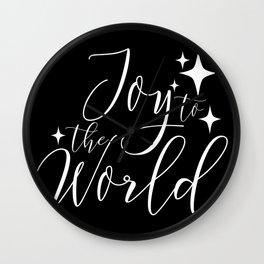 Joy to the World Wall Clock