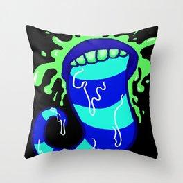 Shlorp Throw Pillow