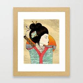 Katana Framed Art Print