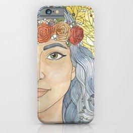 Lady Wisdom (Sophia) iPhone Case