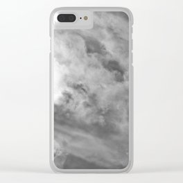 Brewing Storm X Clear iPhone Case