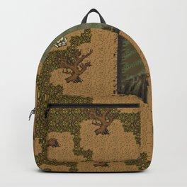 horror acampament Backpack