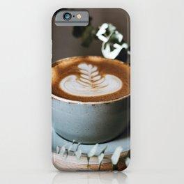 Latte Art V iPhone Case