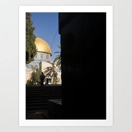 Doorway to the Dome of the Rock Art Print