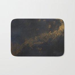 Golden Dust Bath Mat