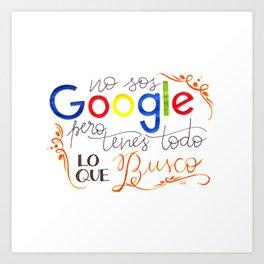Google Art Print