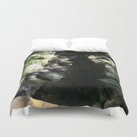 turtles Duvet Covers featuring turtles  by Katie A.M.