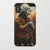 yoda iPhone & iPod Cases featuring Yoda by calibos
