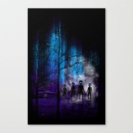 The Invaders Canvas Print