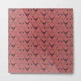 perro pattern Metal Print