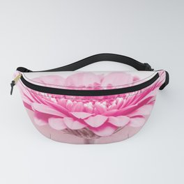 Pink gerbera Fanny Pack