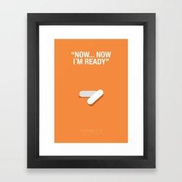 """NOW, NOW IM READY"" - Trainspotting Fanart Poster 2 Framed Art Print"