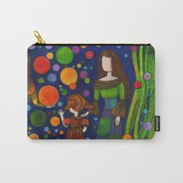 Playing with orbs Carry-All Pouch
