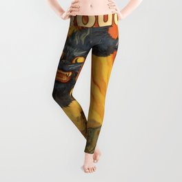 Vintage poster - Join the Tanks Leggings