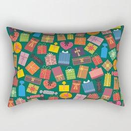Fun Gift Box pattern Rectangular Pillow