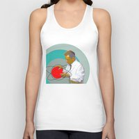 science Tank Tops featuring Science by Renaissance Youth