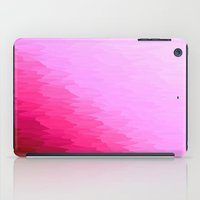 hot pink iPad Cases featuring Pink Ombre by SimplyChic