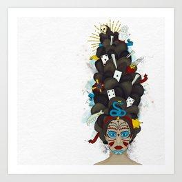 The Voodoo Queen Art Print