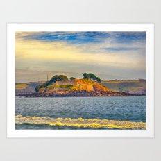 Drakes Island Art Print