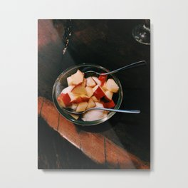 Apple Fro-Yo Metal Print