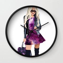 Fashion Cosmo Girl Wall Clock