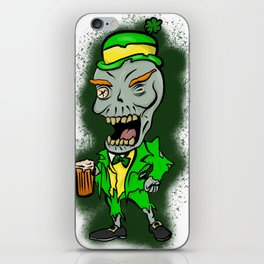 St Paddy's Zombie iPhone Skin