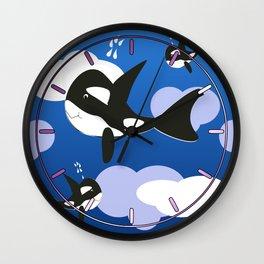 Orca Design Wall Clock