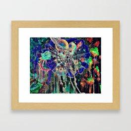 Cosmic Defect Framed Art Print