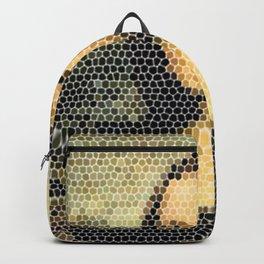 Mona Lisa - Leonardo Da Vinci. Backpack