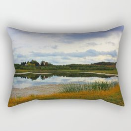 Weed Orchard Lake  Rectangular Pillow