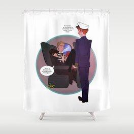 Cabinlock Shower Curtain