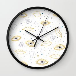 repetitive precious Wall Clock