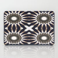 chocolate iPad Cases featuring Chocolate Flower Mandala Pattern by 2sweet4words Designs