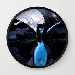 Dark Moon Fairy Wall Clock